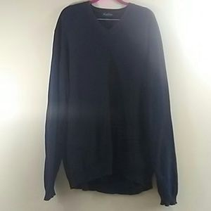 Brooks Brothers Sweater Pullover Mens Navy Blue